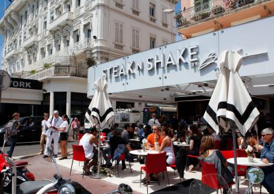 Steak 'n' Shake, Cannes